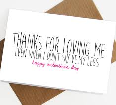 valentines day cards for him 20 hilarious etsy s day cards you to buy for your