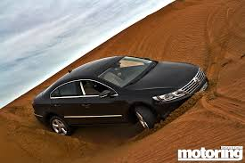 we go dune bashing in a vw cc video motoring middle east car