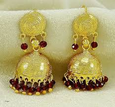 new jhumka earrings gold jewelry beautiful how to remove gold plating from jewelry