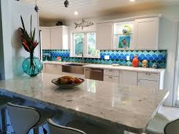 moroccan tiles kitchen backsplash kitchen decorating design ideas using blue glass scallop moroccan