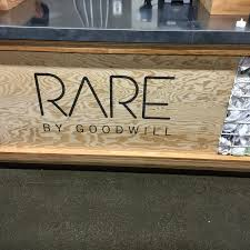 more from the rare by goodwill grand opening more with less today
