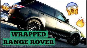 camo range rover range rover sport matte black youtube