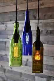 lights made out of wine bottles лампы из использованных бутылок топ 23 interior pinterest