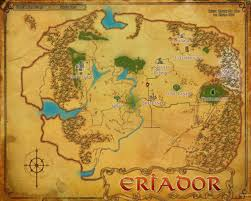 Lotr Map Eriador Lord Of The Rings Online Wiki Fandom Powered By Wikia