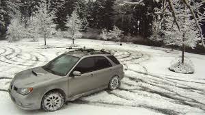 2006 Wrx Wagon Snowy Parking Lot Youtube