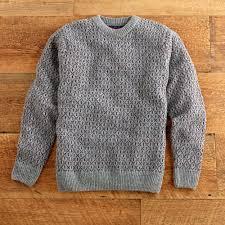 scottish classic fisherman sweater national geographic store