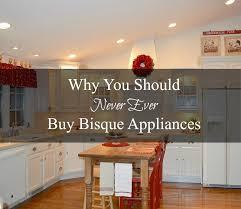 never ever buy bisque appliances exquisitely unremarkable