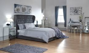 Grey Upholstered Ottoman Bed Gfw Dakota 4ft6 Grey Upholstered Fabric Ottoman Bed Frame