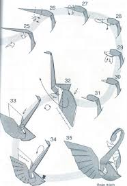 origami origami swan instructions origami swan instructions easy