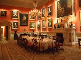 dining room palladian stately home exclusive use scheme