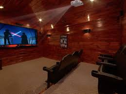 private theater room with surround sound vrbo