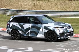 range rover price 2014 2014 range rover sport r s caught testing on the nürburgring