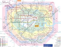 Boston Public Transportation Map by Maps Of London Detailed Map Of London In English Maps Of