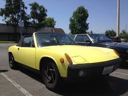 porsche 914 yellow 914world com 914 swapmeet