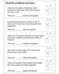 4th grade math worksheets multiplication word problems koogra