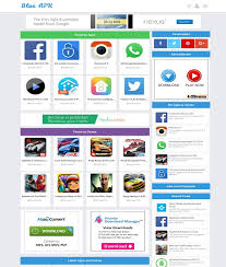 templates blogger themes blue apk blogger template free download