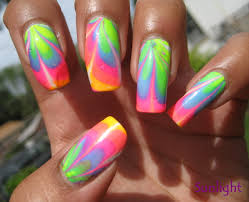 19 neon nails design neon tribal nail design bmodish biz style org