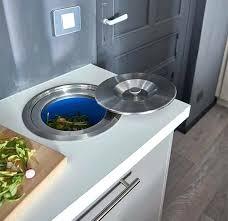 poubelle coulissante cuisine poubelle de cuisine encastrable poubelle encastrable cuisine