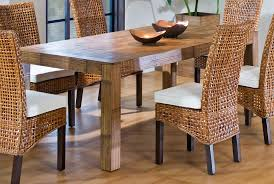 Furniture  Comfortable Garden Furniture Set With Wicker Rattan - Round dining table with wicker chairs