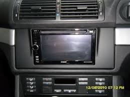 replace e39 sat nav with double din