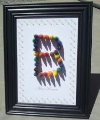 the 25 best crayon letter ideas on pinterest crayon crafts