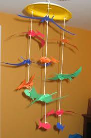 pteranodon dinosaur mobile craft preschool crafts for kids