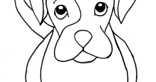 boxer puppy coloring samantha bell