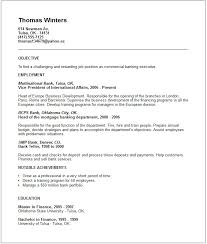 Resume Objective For Barista International Business Resume Objective Work Resume Examples With