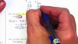 algebra 2 chapter 5 practice test youtube