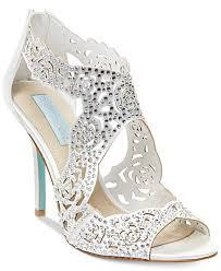 wedding shoes macys wedding ideas blue by betsey johnson livie evening sandals