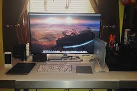 Bedroom Setup My Bedroom Setup With Apple Inspired Desk Macsetups