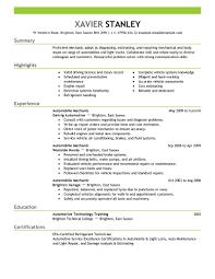 Heavy Equipment Mechanic Resume Examples Best Mechanic Resume Example Livecareer