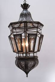 vintage hanging light fixtures pair of moroccan vintage hanging glass light fixtures for sale at