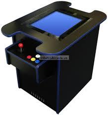 Tabletop Arcade Cabinet Complete Cocktails Multicade Jamma Icade Mame Arcade Game System