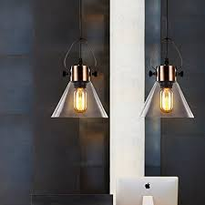 Industrial Glass Pendant Light Mstar Industrial Glass Pendant Lighting E26 40w Edison Vintage