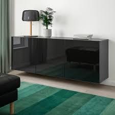ikea high gloss black kitchen doors bestå wall mounted cabinet combination black brown selsviken high gloss black 70 7 8x16 1 2x25 1 4