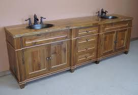 Reclaimed Wood Vanity Bathroom Wood Bathroom Vanity Traditional Bathroom Vanities And Sink