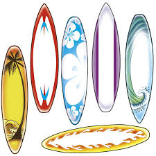 Surfboard Accents Ep 3137 Surfboard Coloring Page