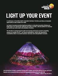 nt convention bureau pressreader qantas 2018 06 01 light up your event