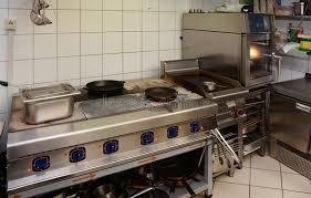 cuisine professionnel intérieur professionnel de cuisine image stock image du