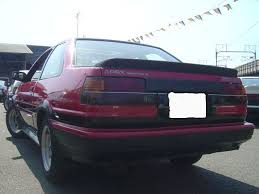 toyota corolla gt coupe ae86 for sale sold levin in the past toyota levin japanese used car exporter