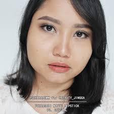 Lipstik Purbasari Nomor 90 racun warna warni review swatch all shade purbasari matte lipstick