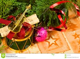 musical christmas ornament macro royalty free stock photos