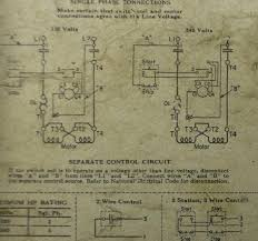general electric single phase motor wiring diagram wiring