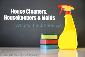 house cleaners housekeepers maid what is the difference house cleaners housekeepers maid what is the difference