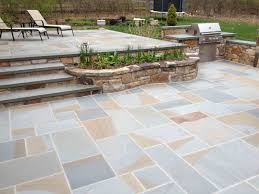Irregular Stone Patio Flagstone And Bluestone New England Silica Inc