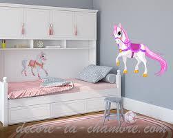 chambre cheval fille stickers cheval pour chambre d enfants vente de stickers déco
