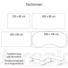 Schreibtisch 130 X 80 Hammerbacher Elektrisch Höhenverstellbarer Schreibtisch Serie Xd