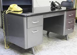 Metal Office Desk Metal Office Desk Parts Brubaker Desk Ideas