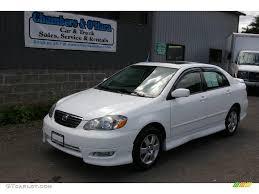 2005 super white toyota corolla s 17261756 gtcarlot com car